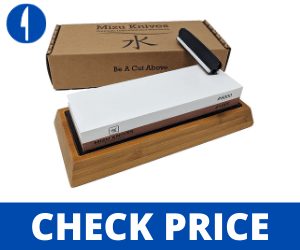 Mizu 1000 / 6000 Grit Premium waterstone sharpeners