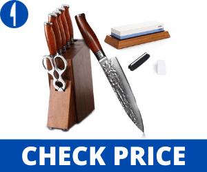 Yarenh Chef Knife Set Pro Best Japanese Knife Set made in japan