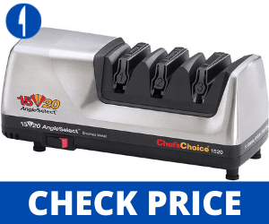 Chef'sChoice Hone Electric Knife Sharpener - For Serrated Edges sharpen a knife