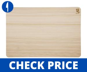 Shun DM0817 Hinoki Cutting Board, Large Best Cutting Boards For Japanese Knives