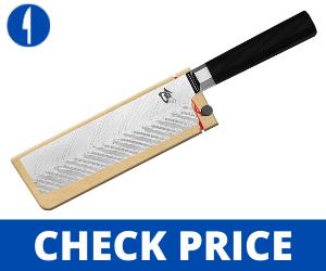 Shun Dual Core 6.5-inch Nakiri - Best Japanese vegetable knives vegetable knife japanese