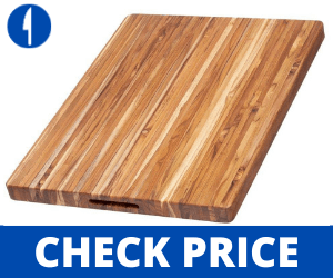 Teakhaus-by-Proteak-Edge-Grain-Carving-Board-wHand-Grip japanese cutting boards