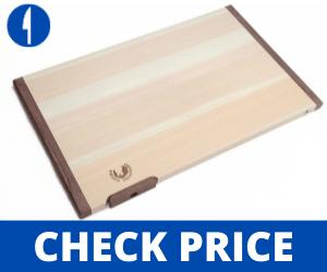 Yoshihiro-Hinoki-Cypress-Japanese-Natural-Wooden-Cutting-Board sushi cutting board