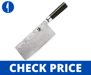 Shun Classic 7 Inch Cleaver VG-MAX Clad, DM0712 japanese cleaver