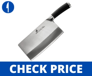 ZHEN Japanese VG-10 3-Layer forged Chopping Chef Knife 8-inch