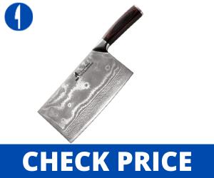 ZHEN Japanese VG-10 8-Inch Chef Butcher Knife/Cleaver