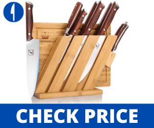 Imarku 10P Set Japanese German Chef Knife Set Professional butcher knife set