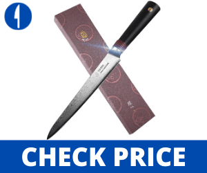 TUO 6 inch Japanese Utility Knife - RING-DM Series TUO Utility knife Tuo Cutlery Review