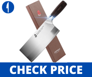 TUO Professional Chinese Cleaver Vegetable/Meat 8 inch - Osprey Series TUO Chinese Knife