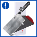 KYOKU Daimyo Series – VG10 – with Sheath & Case (7″ Veg Cleaver)