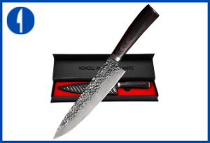KYOKU Samurai Series - 7 Cleaver Knife Knife - with Sheath & Case
