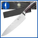 Kessaku Japanese Chef Knife – Samurai – Carbon Steel, 8-Inch