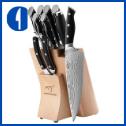 Kitchen Damascus Japanese Knife Set