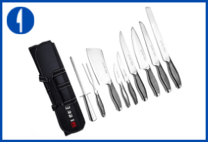 Ross Henery Professional 9 Piece Chef Knife Set