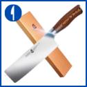 TUO Nakiri Knife – 6.5″ Fiery Series