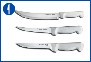 The Dexter Russell 3 Piece - Cutlery Butcher Chef Set