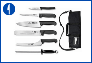 Victorinox Forschner 7 Pc Fibrox Deluxe Culinary Knife Set