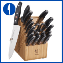Henckels Twin Signature Knife Set 19P, German Knife Set Block